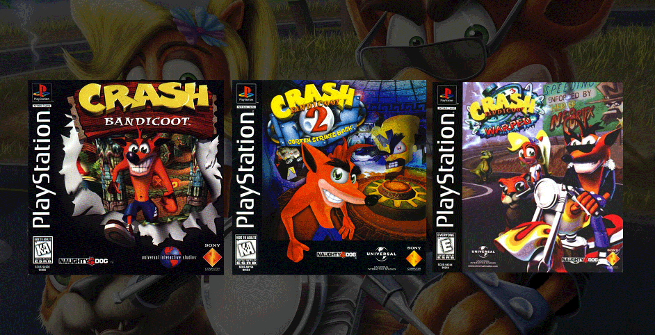 Jeux Video PlayStation Crash Bandicoot