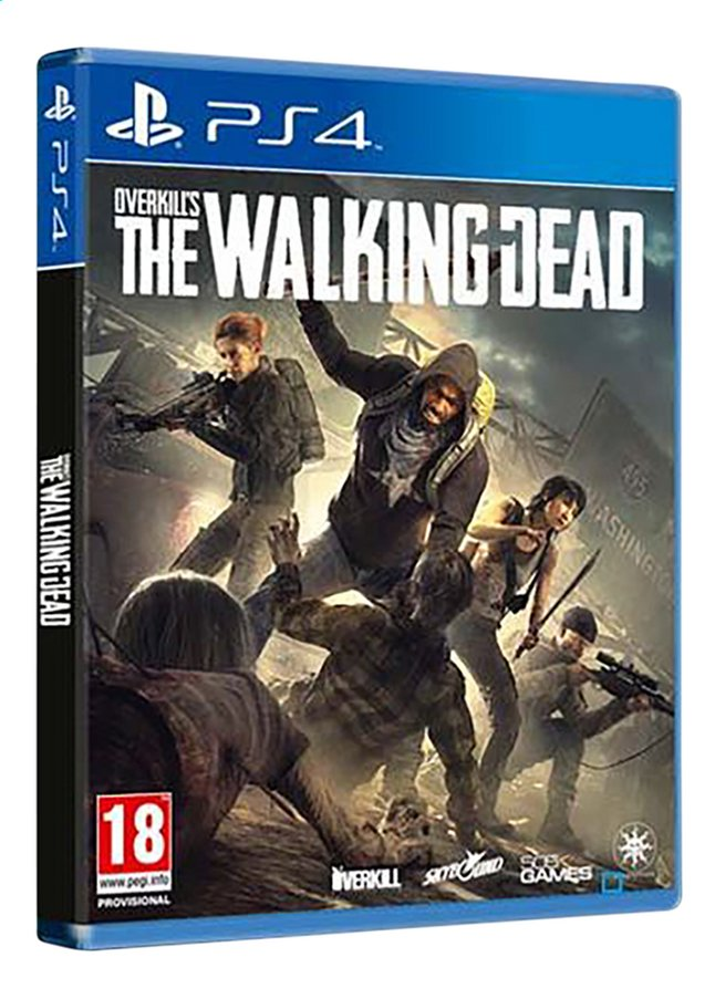 jeux video playstation the walking dead
